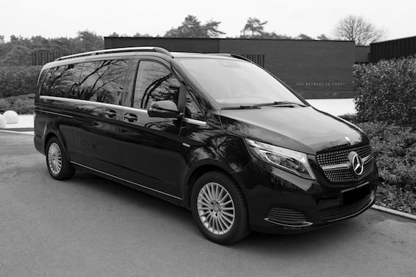 personenvervoer Mercedes V klasse